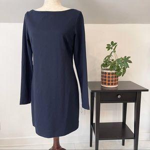 NWT Serena & Lily navy sheath dress size M
